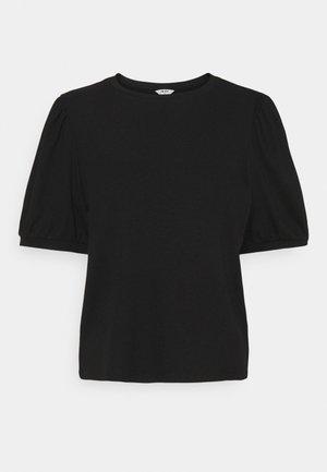 OBJJAMIE - Jednoduché triko - black