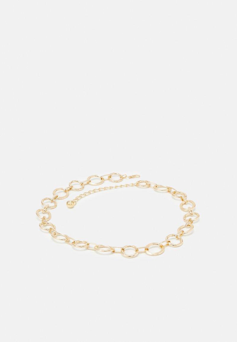 Pieces - PCEMELINE WASIT BELT - Waist belt - gold-coloured