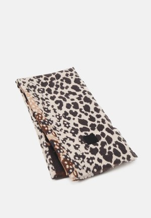 SCARF ANIMAL PATCH BUFAND - Scarf - brown