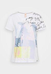 Marc Cain - T-shirt imprimé - water - 0