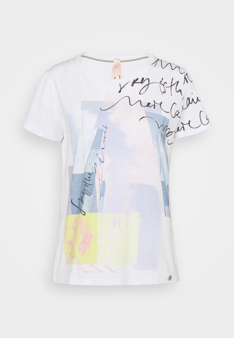 Marc Cain - T-shirt imprimé - water