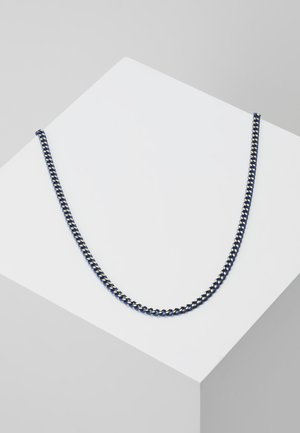 COATED CURB CHAIN - Halskette - blue/gold-coloured