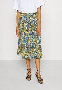 comma - A-line skirt - multi-coloured - 0