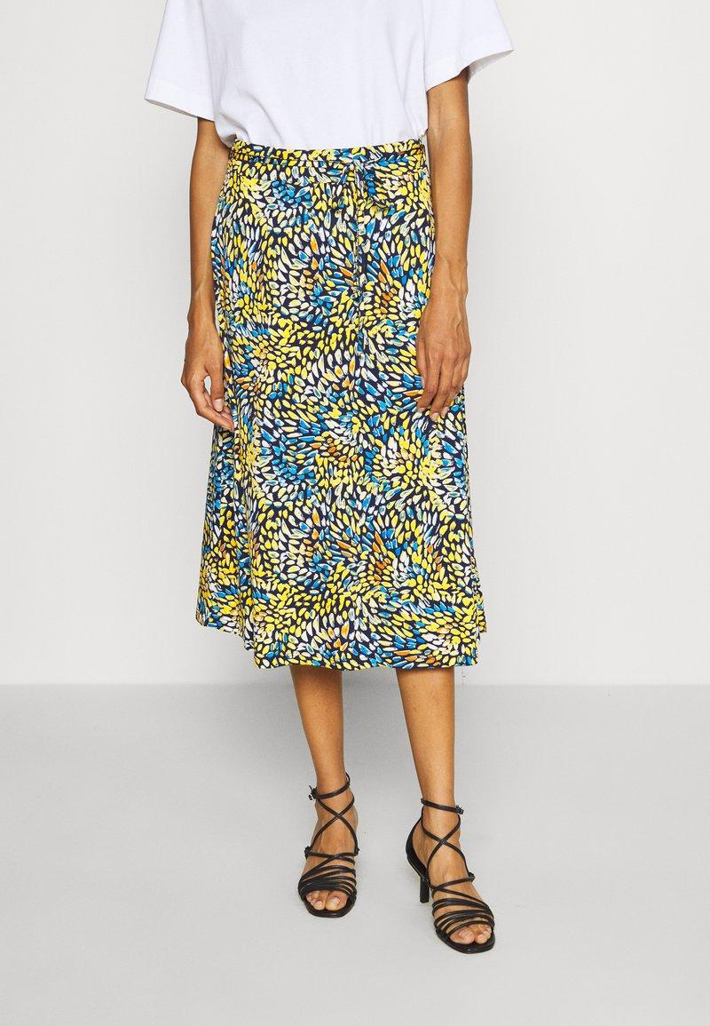 comma - A-line skirt - multi-coloured