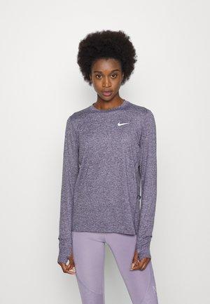 ELEMENT CREW - Sports shirt - cave purple/indigo haze