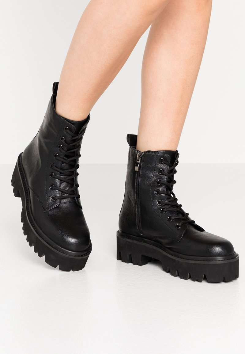 Colors of California - Platform ankle boots - black
