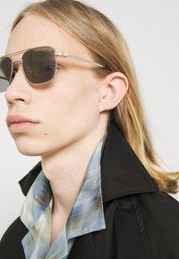 Dunhill - Sunglasses - silver-coloured/green - 1