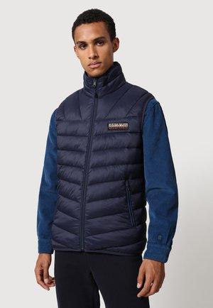 AERONS  - Waistcoat - blu marine