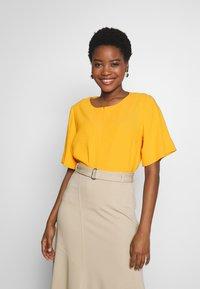someday. - ZAMELINA - Blouse - silky orange - 0
