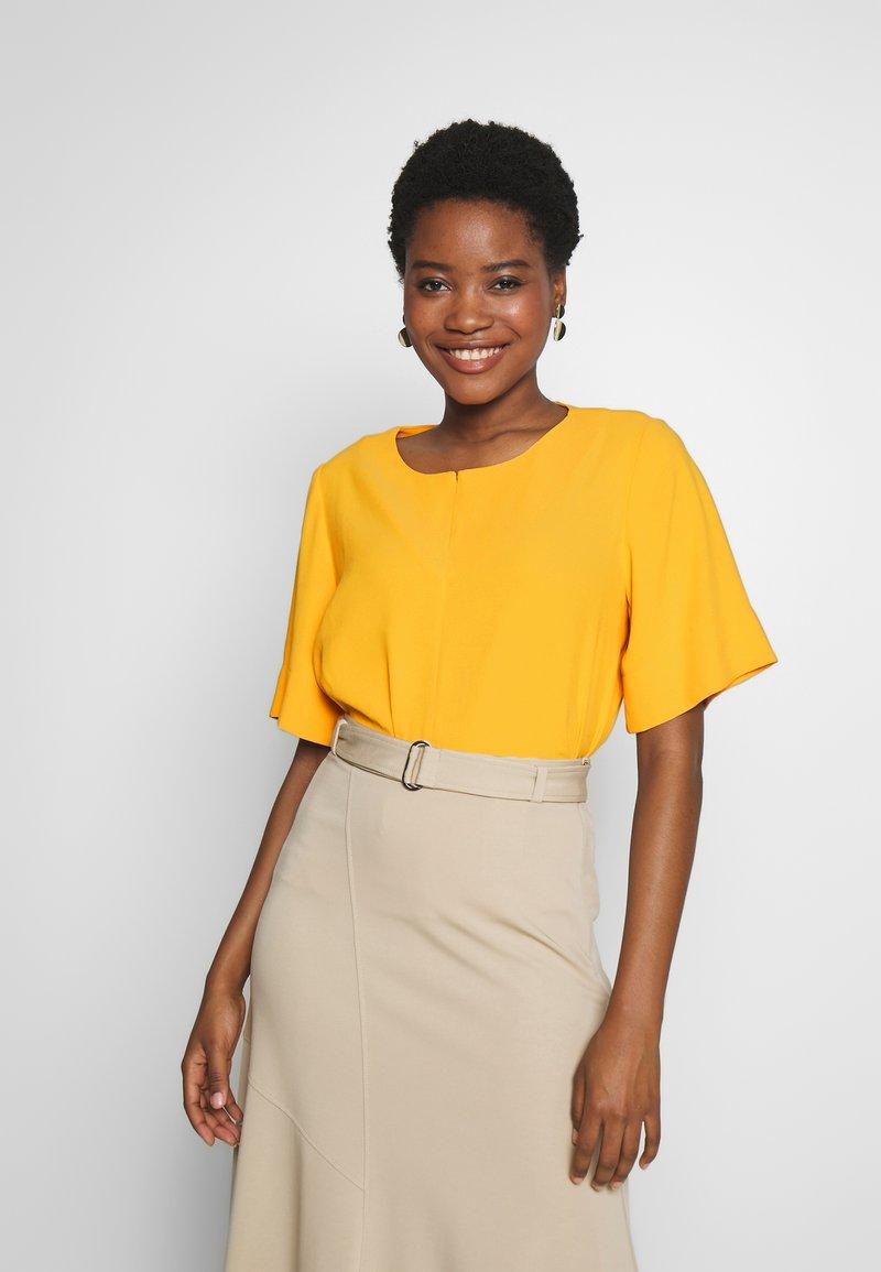 someday. - ZAMELINA - Blouse - silky orange