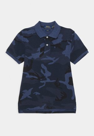 CUSTOM - Polo - blue
