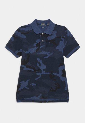 CUSTOM - Polo shirt - blue