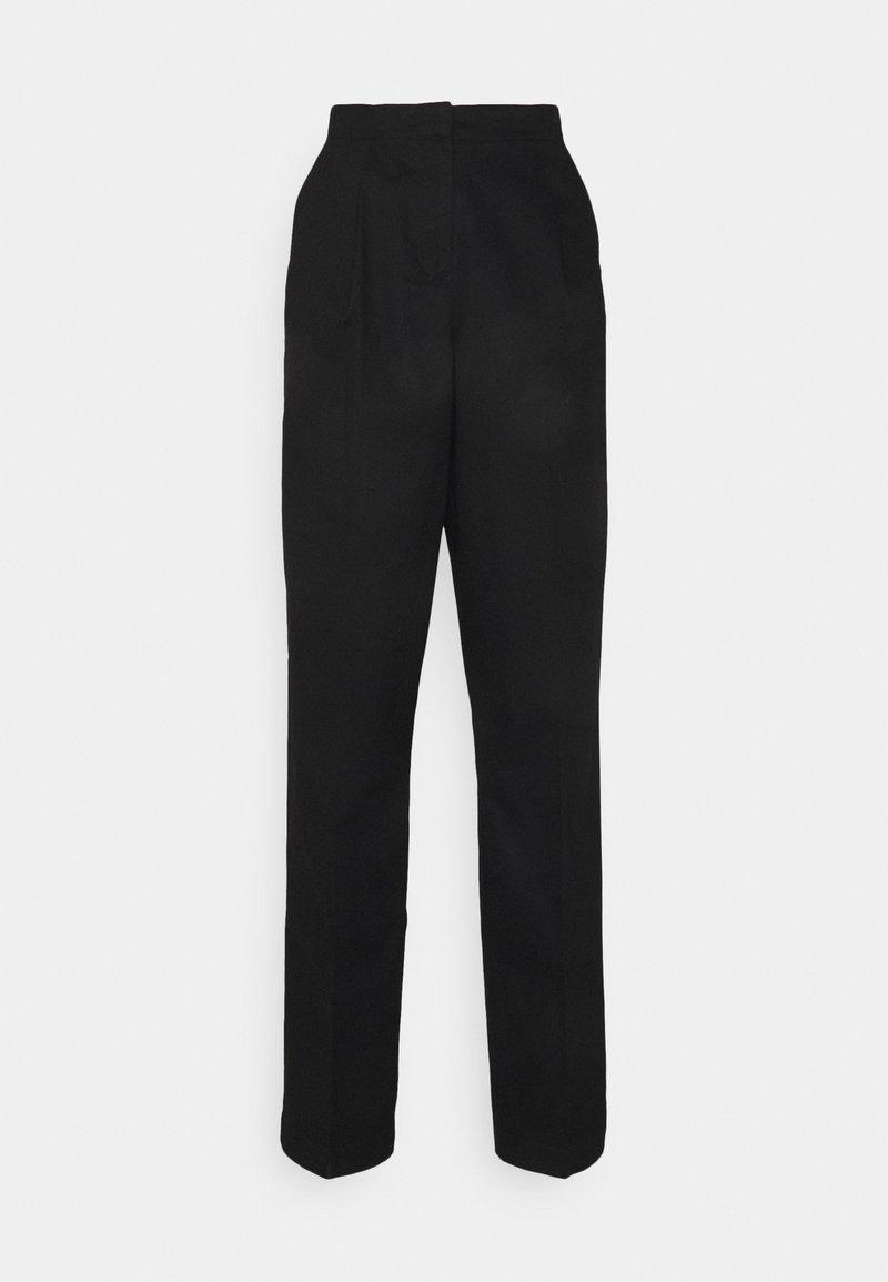 Vero Moda Tall - VMCHARLIE LOOSE PANT - Kangashousut - black
