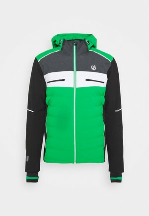 CIPHER JACKET - Chaqueta de esquí - vivgreen/black
