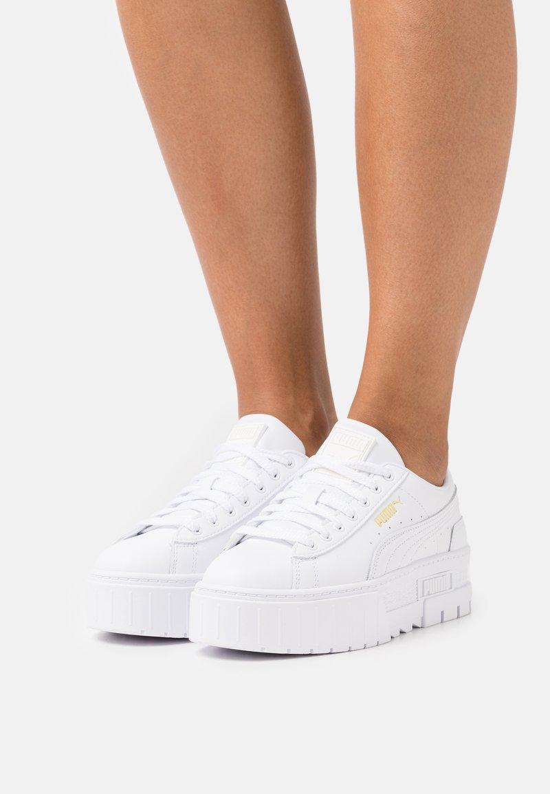 Puma - MAYZE CLASSIC - Trainers - white