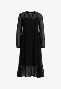 WE Fashion - MET DESSIN - Cocktail dress / Party dress - black - 5