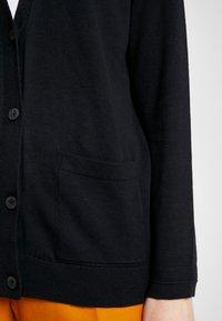 Esprit - CARDIGAN - Cardigan - black - 4