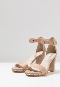 KIOMI - High heeled sandals - nude - 4