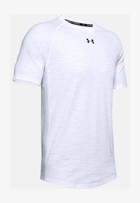 Under Armour - CHARGED COTTON SS - Basic T-shirt - white - 3