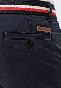 INDICODE JEANS - CHERRY - Pantalones chinos - navy - 4