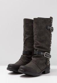 Coolway - GISELE - Cowboy/Biker boots - grey - 4