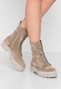 Kennel + Schmenger - ELA - Platform ankle boots - biscuit - 0