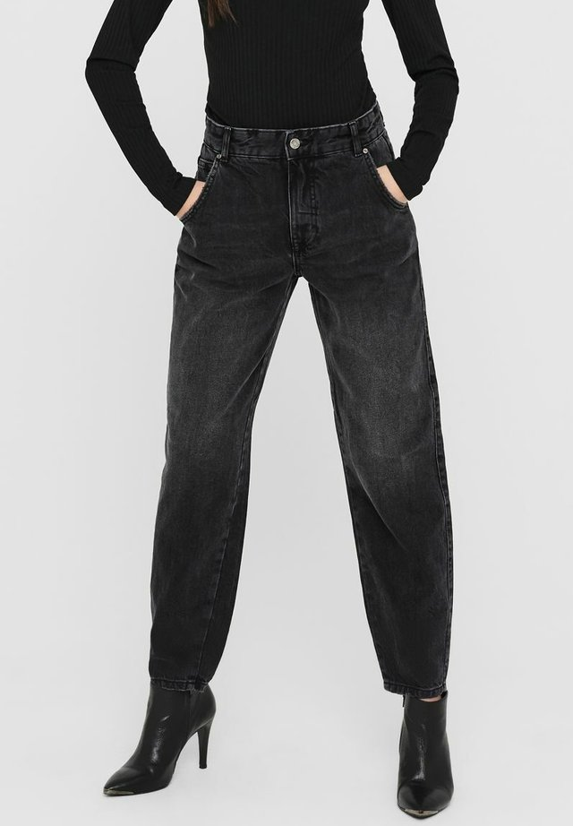 Jeans baggy - dark grey denim