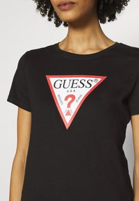 Guess - ORIGINAL - T-shirt print - jet black - 5