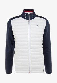 Calvin Klein Golf - HYBRID JACKET - Outdoor jakke - navy/white - 4