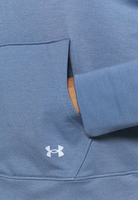 Under Armour - RIVAL TAPED HOODIE - Hoodie - mineral blue - 5