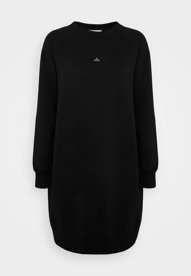 HANGOVER WIDE DRESS  - Robe pull - black