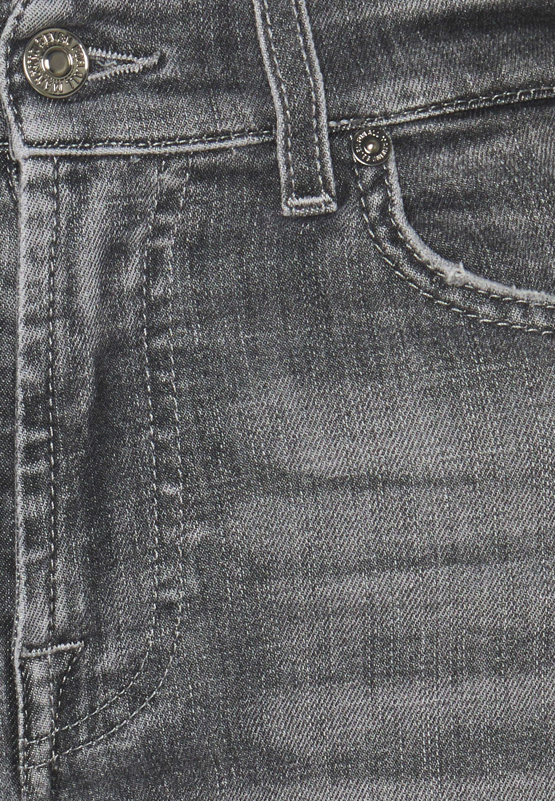 7 for all mankind ROXANNE ANKLE SOHO - Jean slim - grey - Jeans Femme 296a1