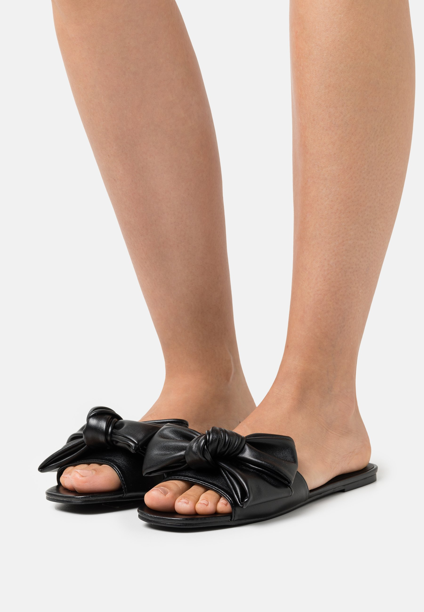 Women BOW FOR ME FLAT - Mules