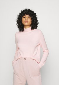 Noisy May - NMPENNY HIGH NECK - Jumper - english rose - 0