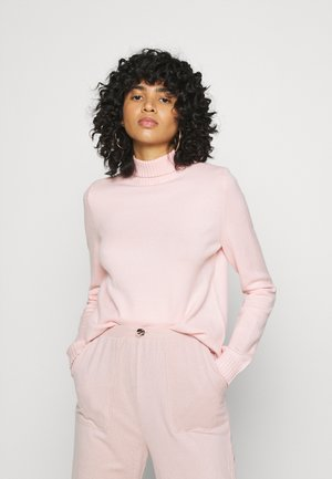 NMPENNY HIGH NECK - Sweter - english rose