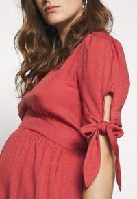 Glamorous Bloom - DRESS - Sukienka letnia - faded red - 5