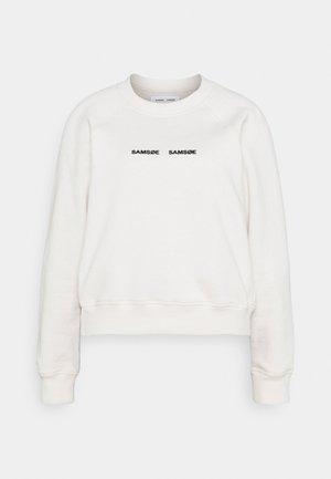 BARLETTA CREW NECK - Sweatshirt - eggnog