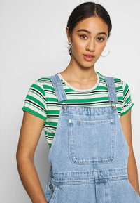 Monki - CIARA DUNGAREES - Overall /Buksedragter - blue medium dusty - 3