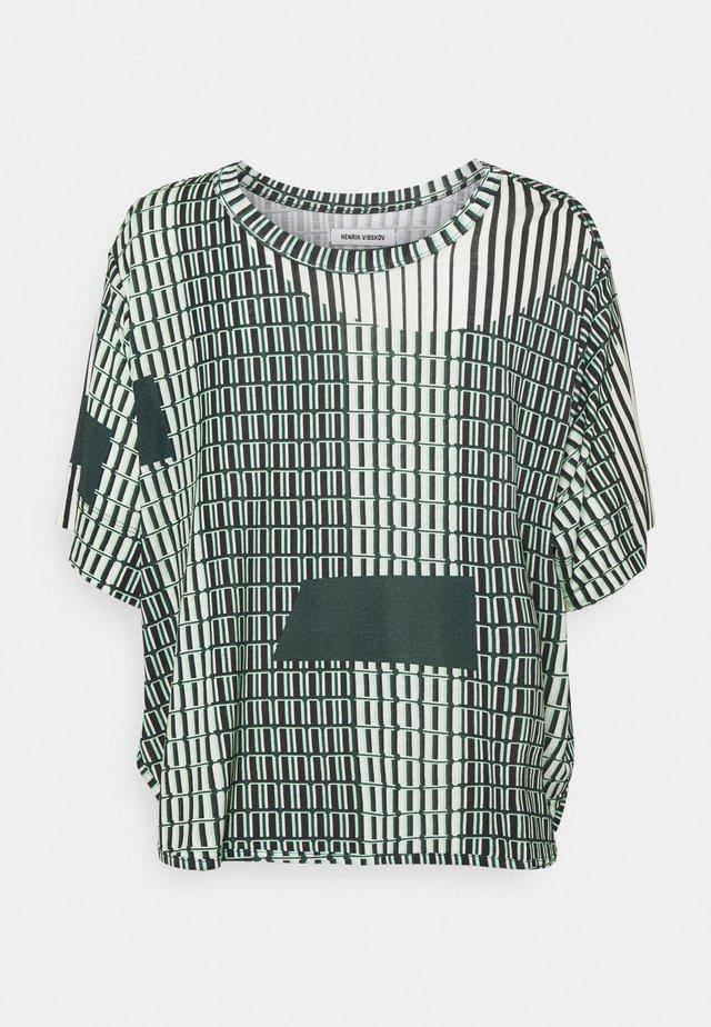 STONE GRABBER TEE - T-shirt print - offwhite