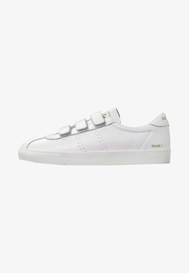 CLUB S COMFLEASTRAPEU - Trainers - white