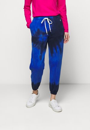 Loopback - Tracksuit bottoms - blue ocean spiral