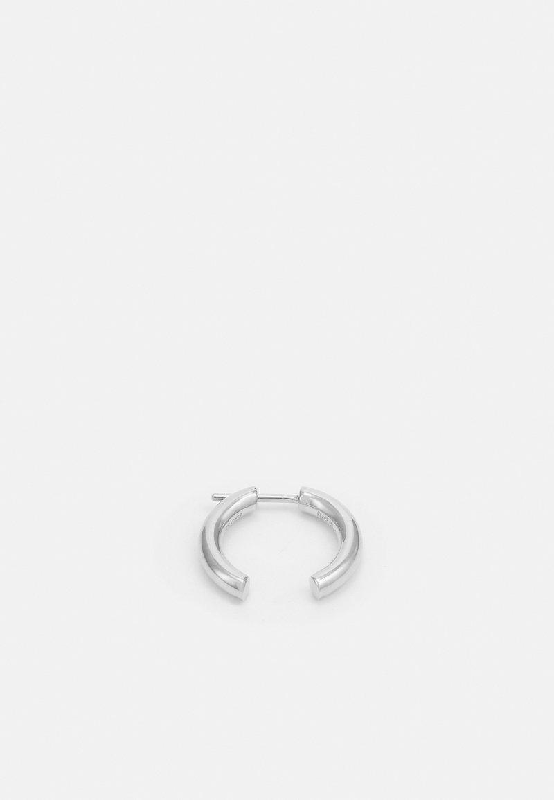 Maria Black - BROKEN 18 EARRING UNISEX - Earrings - silver-coloured