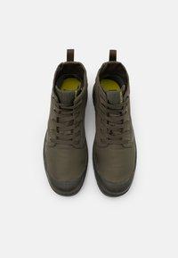 Palladium - PAMPA LITE+ WP+ UNISEX - Lace-up ankle boots - olive night - 3