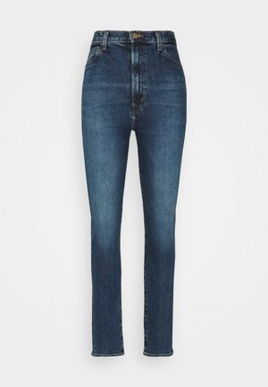 RUNWAY HIGH RISE SLIM STRAIGHT - Džíny Straight Fit - pacific