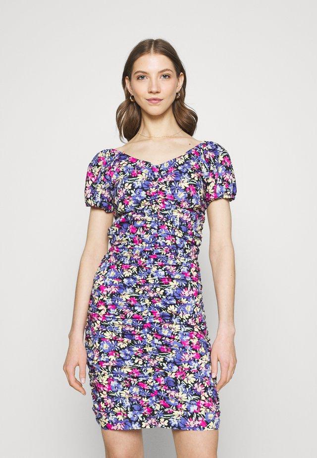 ELINA ROUCHED DRESS - Sukienka etui - multi-coloured