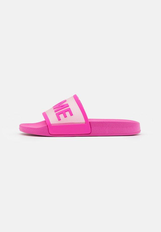 Domácí obuv - pink
