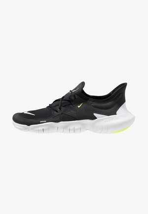 FREE RN 5.0 - Laufschuh Natural running - black/white/anthracite/volt