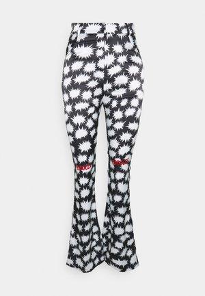 BANG PRINT PANT - Kalhoty - black