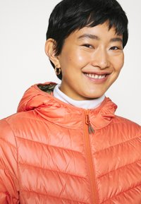 TOM TAILOR DENIM - LIGHT PADDED JACKET - Lett jakke - burnt coral - 3