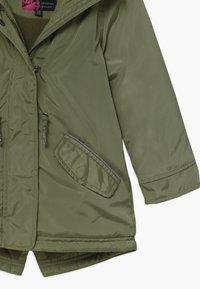 Lemon Beret - SMALL GIRLS - Winter coat - deep lichen green - 4